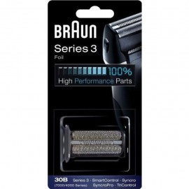 Braun 30B - Testina di Ricambio Compatibile con Series 3