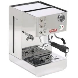 Lelit PL41LEM Anna - Macchina da Caffè Manuale e a Cialde, 1050W, 15 Bar, Manometro Retroilluminato
