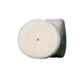 Dremel 414 - 6 dischi lucidante feltro 13mm, da usare con perno 402