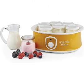 Ariete - Yogurtiera, 7 Vasetti, Giallo