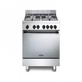 De'Longhi Gemma 66 M2 ED - Cucina a Gas 60X60, 4 Fuochi, Forno Elettrico Multifunzione