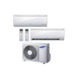 Samsung F-AR12MLD/24 Dual - Kit Condizionatore Fisso Dual Split, 12000 + 12000 Btu, Maldives, A+/A,