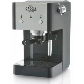 Gaggia RI8425/11 Gran Gaggia Deluxe - Macchina da Caffè Espresso Manuale e a Cialde, 950 W, 1 Lt., 1