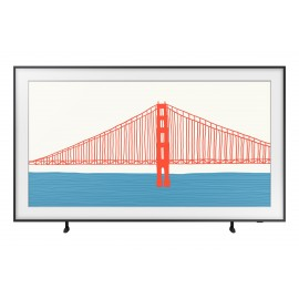 "Samsung TV The Frame 4K 55"" 55LS03A Smart TV Wi-Fi Black 2021"