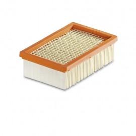 Kärcher 2.863-005.0 - Filtro Plissettato Piatto New System, Compatibile con WD 4-5-6 (MV 4-5-6), 1 P