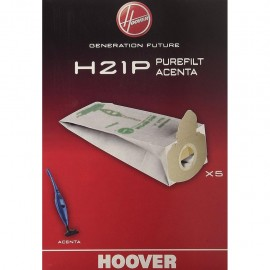 Hoover H21P - Sacchetti di Ricambio per Modelli Acenta, 5 Pezzi