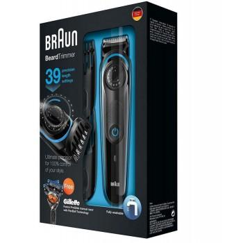 Braun BT3040 - Regolabarba, 1-20 mm, 39 Lunghezze con Gillette Fusion ProGlide