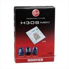 Hoover H30S - Sacchetti Aspirapolvere Purefilt, 5 Pezzi