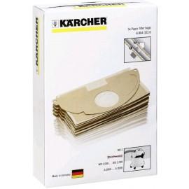 Kärcher 6.904-322.0 - Sacchetti Filtro in Carta per MV2/WD2, 5 Pezzi