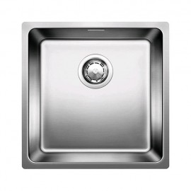 Blanco Andano 400 If Infino - Lavello Acciaio Inox, 440x440 mm, 1 Vasca, 1518311