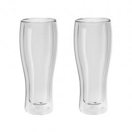 Zwilling 39500-214 - Bicchieri per Birra, 414 ml, 2 Pezzi