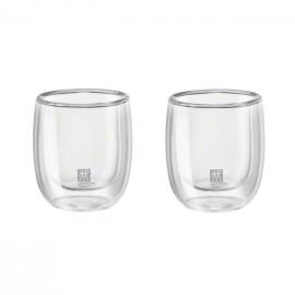 Zwilling 39500-075 - Bicchiere Vetro 80ml, 2 Pezzi
