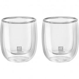 Zwilling 39500-077 - Bicchiere Vetro 240ml, 2 Pezzi