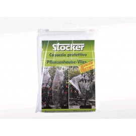Stocker 4514 - Tessuto tubolare bianco 1,5x6m - 19gr/m²