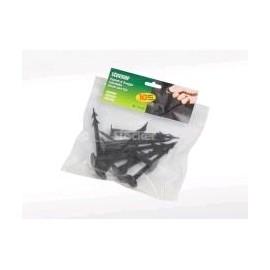 Stocker 2164 - picchetti di fissaggio in plastica 13cm - 10 pezzi
