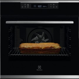 Electrolux KOFCH30X - Forno da Incasso SurroundCook, AquaClean, Pizza, 60 cm, A+