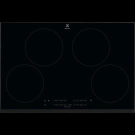 Electrolux LIT81443 - Piano Cottura ad Induzione, Vetroceramica Nero, 4 Zone, 80 cm