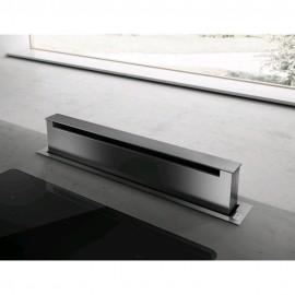 Elica PANDORA IX/F/90 - Cappa Downdraft Filtrante, Inox, 90 cm, A