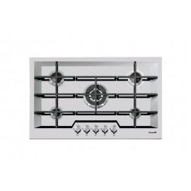 Foster 7605 032 - Piano Cottura a Gas KE Sopratop, Inox spazzolato, 81x52 cm