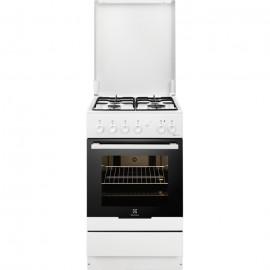 Electrolux RKK20161OW - Cucina a Libera Installazione Mista, Bianco, 56 Litri, A
