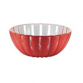 Guzzini Grace - Coppa L, 25 cm, Rosso Trasparente