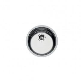 Foster 1110 060 - Lavello Circolari Sopratop o Filotop, Inox spazzolato, 42 cm