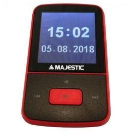 "New Majestic Lettore Multimediale Lett.Mp3 BT-8484R Rosso 8Gb BT 1,5"" Rec"