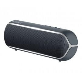Sony SRS-XB22, speaker compatto, portatile, resistente all'acqua con EXTRA BASS e luci, nero