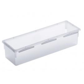 Rotho 052542 - Portaposate Plastica, Trasparente 23X8cm