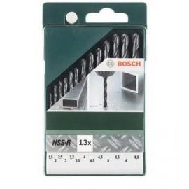 Bosch Set da 13 pz di punte per metallo HSS-R