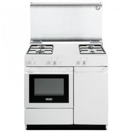 De Longhi SGW854N - Cucina Forno a Gas, Bianca , 86X50 cm