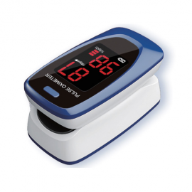 Gima OXY-2 - Pulsossimetro, Blu/Bianco