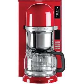 KitchenAid 5KCM0802EER - Macchina Caffé per Filtro, 2-8 Tazze, 1,18 Lt., Rosso Imperiale