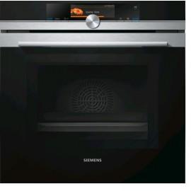 Siemens HN678G4S6 - Forno Combinato Microonde da Incasso, 67 Litri, 800 Watt