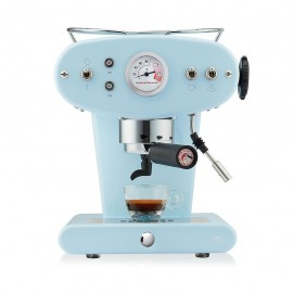 Illy X1 Trio - Macchina da Caffè a Cialde E.S.E., Azzurra
