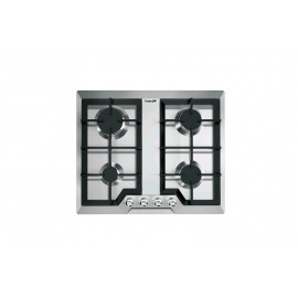 Foster 7068 042 - Piano Cottura a gas Elettra Sopratop, Inox spazzolato, 59x50 cm