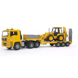 Bruder 02776 - Camion MAN TGA con Scavatore JBC 4CX