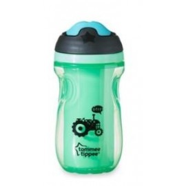 Tommee Tippee Insulated Sipper - Borraccia Termica con Becuccio Boy 12+, 260 ml