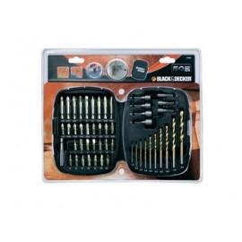 Black&Decker A7093 - Set 50 Pezzi per Forare ed Avvitare