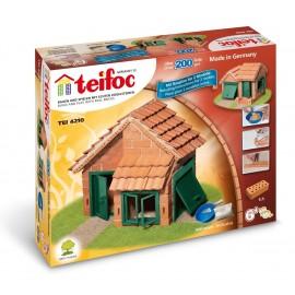 Teifoc 4210 - Casa con Tegole, 200 Pezzi