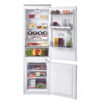 Candy CKBBS 174 FT - Frigorifero con congelatore, Da incasso, Bianco, 250 Litri, Classe A++