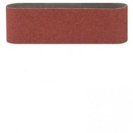 Bosch 3 Nastri abrasivi per levigatrice a nastro RedWood 75x533 mm, 1x G60/ 80/ 100, con fissaggio a
