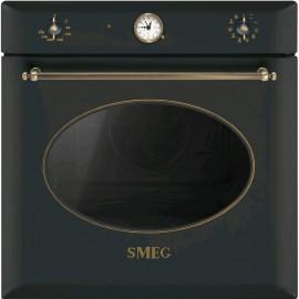 Smeg SF855AO - Forno Incasso, Coloniale, Elettrico, 60 cm, Termoventilato, Antracite, Vapor Clean, A