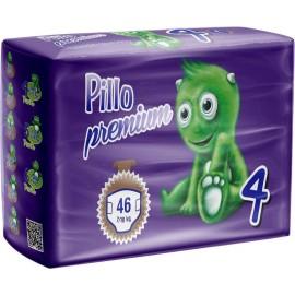 Pillo Premium - Pannolini Maxi, Taglia 4 (7-18 Kg), 1 Confezione, 46 Pannolini