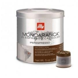 Illy Aroma Brasile - Capsule Aroma Intenso, 21 pz