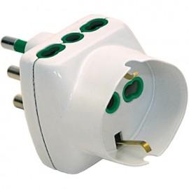 FME 87240 adattatore per presa di corrente Tipo L (IT) Universale Bianco