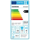 Siemens WT45H207IT - Asciugatrice a Pompa di Calore, 7 Kg, A++
