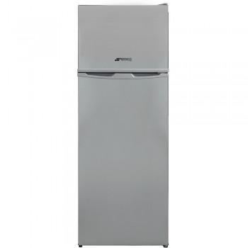 Smeg FD14FS - Frigorifero con congelatore, Libera installazione ,Argento, 213 Litri, Classe F (A+)