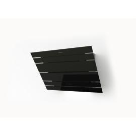 Galvamet LEVANTE 90/F BLACK - Cappa Filtrante al Plasma a Parete, 450 m3/h, 90 cm, Nera