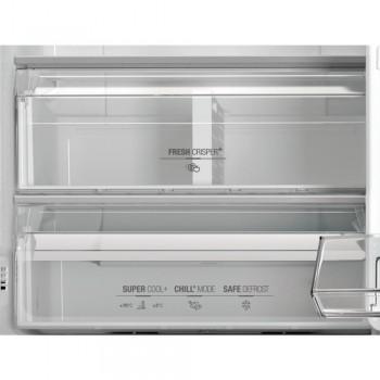 Hotpoint XH8 T2O XZH/1 - Frigorifero Combinato Freestanding, NoFrost, 333 Litri, Classe E (A++), 191.2x59.6x67.8 cm